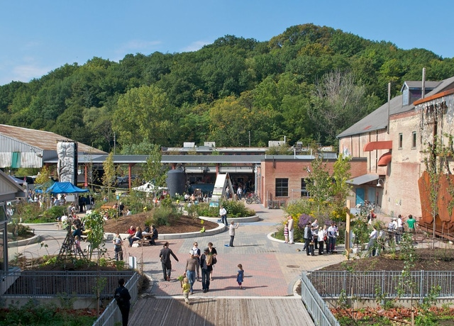 Evergreen Brick Works Outdoor Market