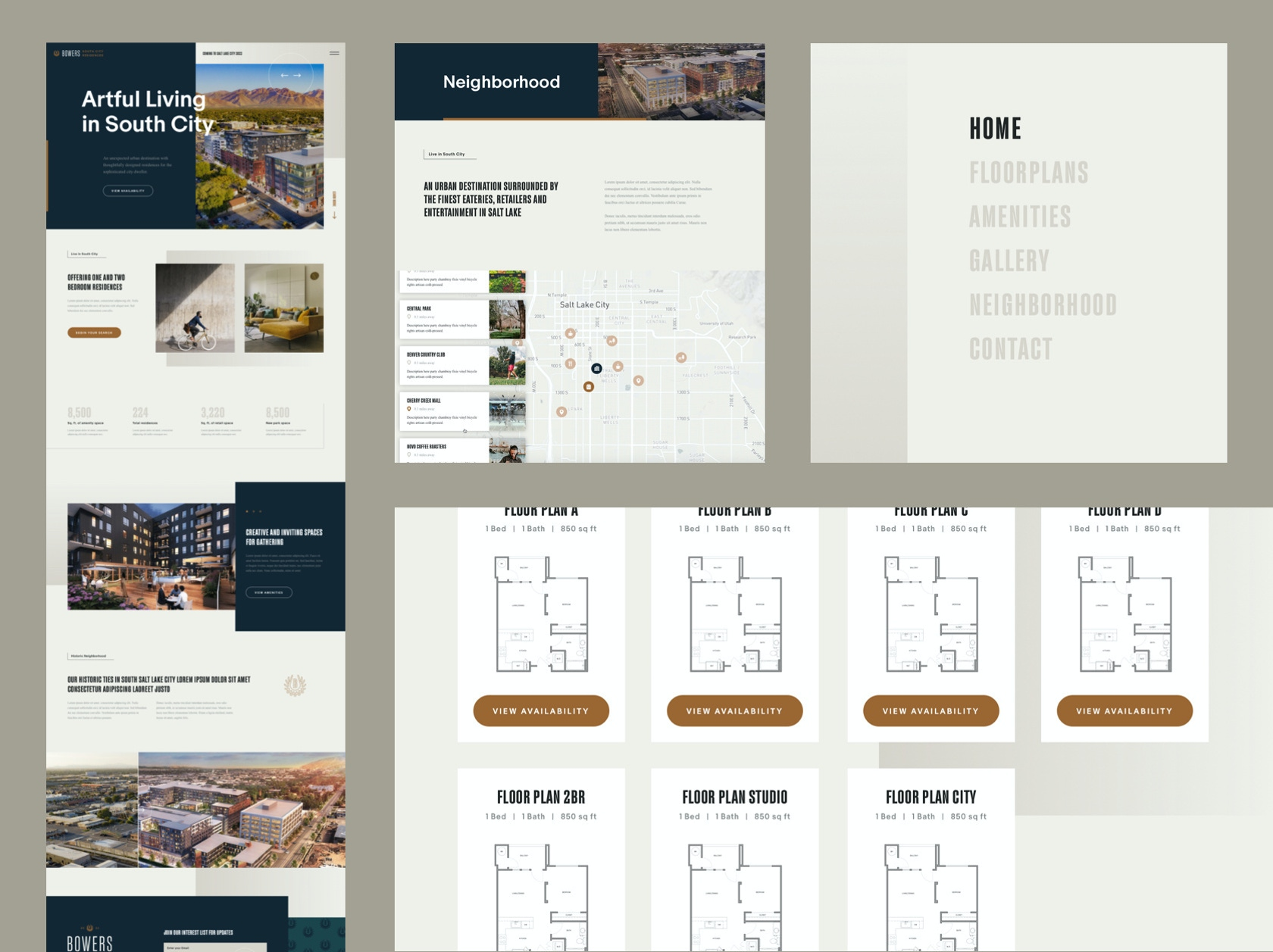 Bowers residences web assets